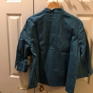 5204302050 Coldwater Creek Jackets   Coats - Coldwater Creek - 18W sunwashed twill 3  button jac